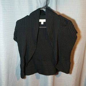 Fashion Bug Black Shrub Sweater Size M